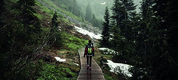 ¿Cómo debo organizar mi mochila de trekking?