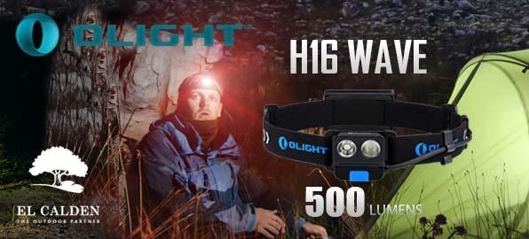 Linterna Frontal H16 Wave de Olight: ilumina tus metas
