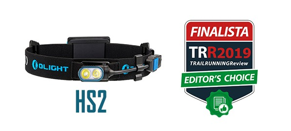 Olight HS2, finalista del certamen al Mejor Frontal 2019 de TRAILRUNNINGReview