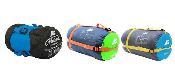Trío de ases: sacos de dormir Marsupio
