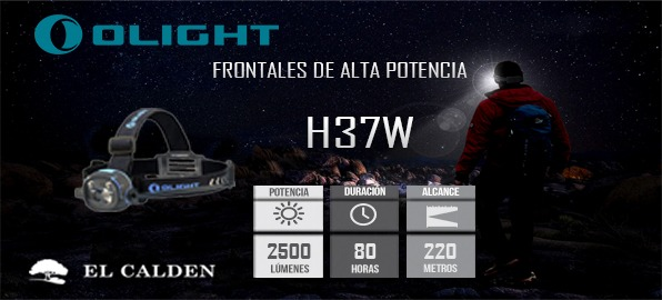 H37 Wave de Olight: nuevo frontal para trail running