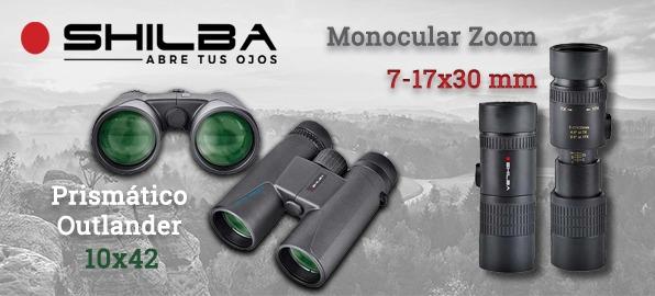 Monocular M. Zoom y prismático Outlander de Shilba