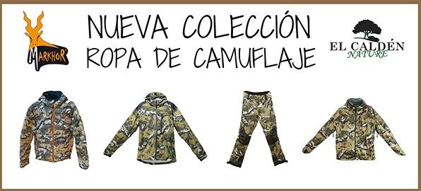 Markhor lanza su nueva colección  de ropa de camuflaje