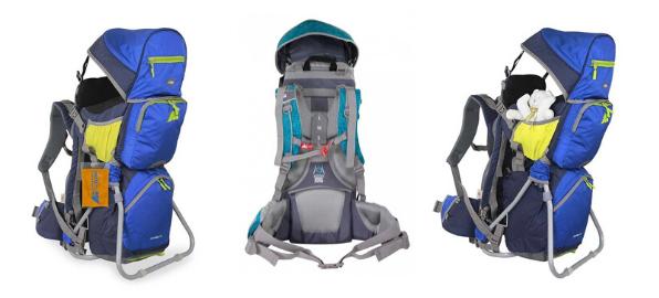 Marsupio presenta su mochila outdoor Carry Baby para transportar bebés