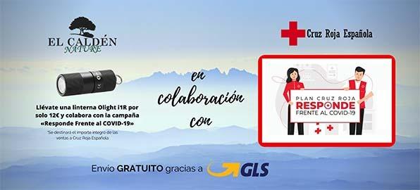 Segunda campaña de colaboración de El Caldén Nature con Cruz Roja Española «Plan Responde Frente al COVID-19»