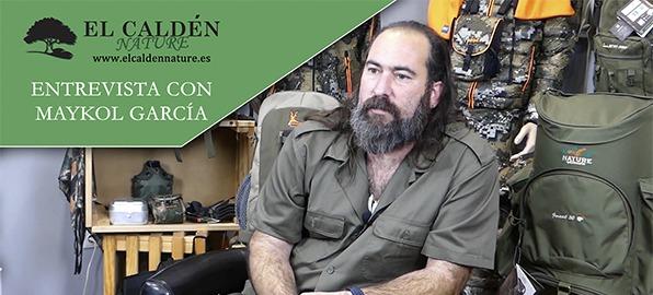 Maykol García, experto en Bushcraft y supervivencia, nos visita